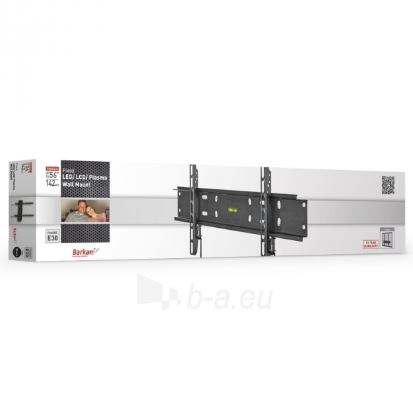 BARKAN E30.B 56'' LCD, fiksuotas, sieninis, juodas Paveikslėlis 3 iš 3 250226200236