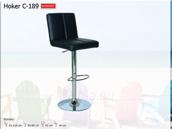 Bar chair C-189 Paveikslėlis 1 iš 2 250406200059