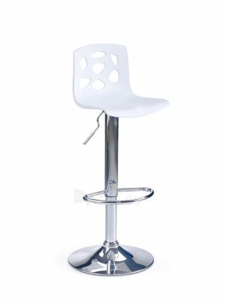 Baro kėdė H-48 balta Paveikslėlis 1 iš 1 250406200110
