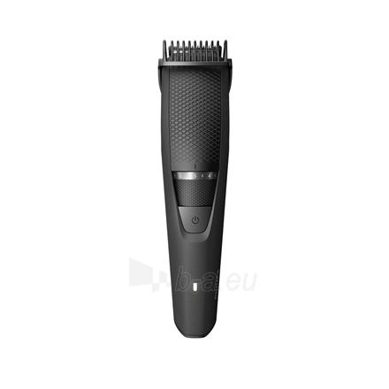 Shaver Philips Beard Trimmer BT3226/14 Cordless or corded, Step precise 0.5 mm, 20 lock-in length settings, Black Paveikslėlis 3 iš 3 310820223940