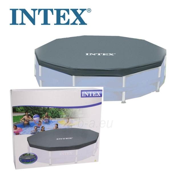 Baseino uždangalas INTEX Krystal Clear, Ø 366 cm Paveikslėlis 1 iš 1 310820136664