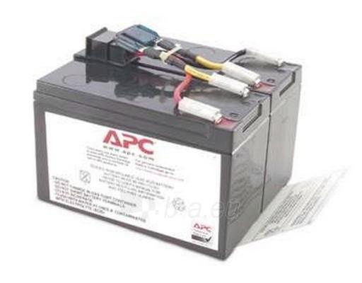 Baterija APC REPLACEMENT BATTERY 48 Paveikslėlis 1 iš 1 250254100039