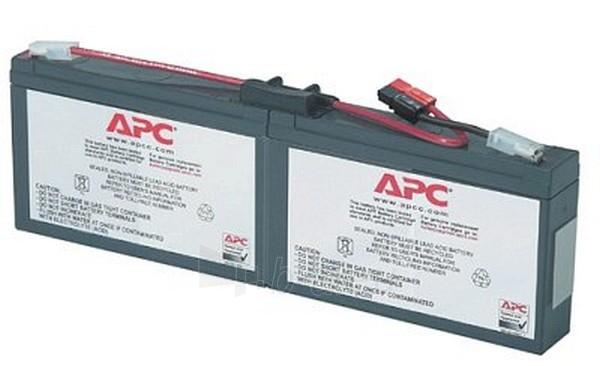 Baterija APC REPLACEMENT BATTERY CARTRIDGE18 Paveikslėlis 1 iš 1 250254100026