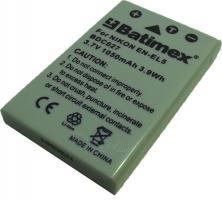 Bat.Batimex BDC027 Nikon EN-EL5 1050mAh Paveikslėlis 1 iš 2 250222040601375