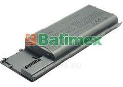 Baterija Batimex Dell D620 4400mAh 11.1V Paveikslėlis 1 iš 1 250254100262