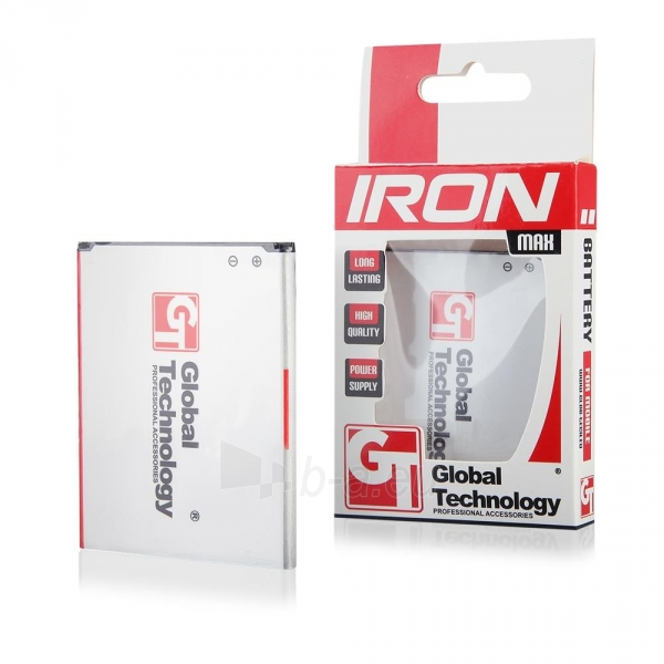 Baterija BATTERIES GT IRON LG G2 (D802) (BL-T7) 3200mAh Paveikslėlis 1 iš 1 310820044119