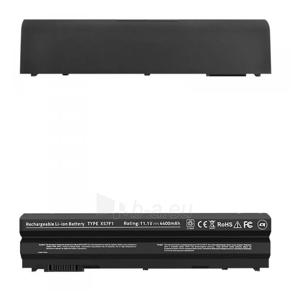 Qoltec Long Life Notebook Battery - Dell E6420 10.8-11.1V | 4400mAh Paveikslėlis 1 iš 2 310820005355
