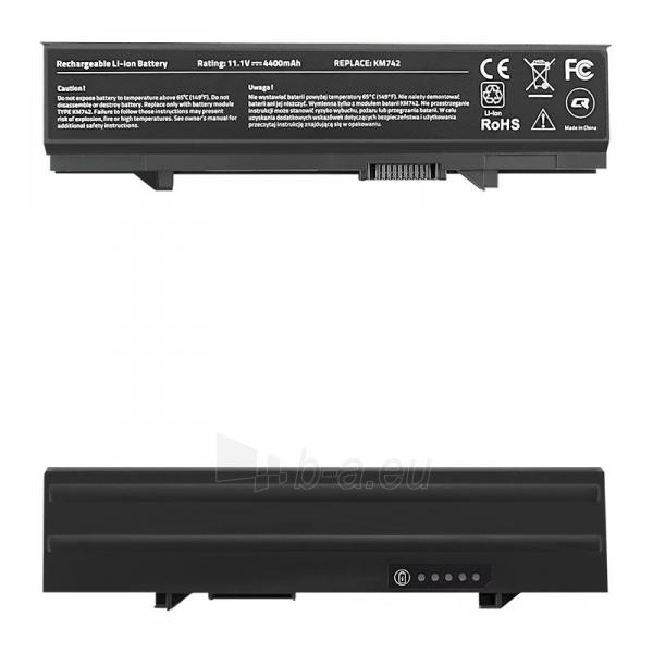 Qoltec Long Life Notebook Battery - Dell Latitude E5400   4400mAh   11.1V Paveikslėlis 1 iš 2 310820005389