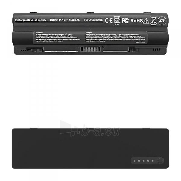 Qoltec Long Life Notebook Battery - Dell XPS 14 L501x | 4400mAh | 11.1V Paveikslėlis 1 iš 2 310820005391