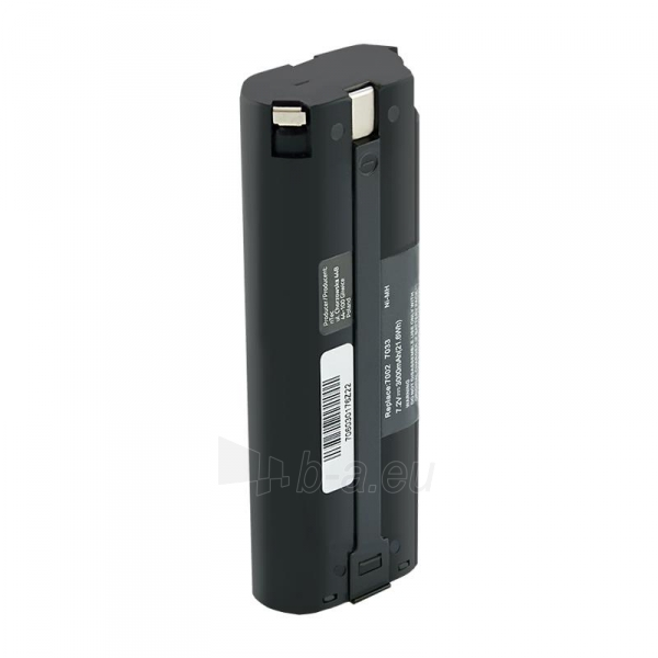 Baterija Qoltec Power tools battery for Makita 7000 7001 7033 | 3000mAh | 7.2V Paveikslėlis 1 iš 2 310820103263