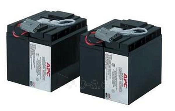 Baterija REPLACEMENT BATT FOR SU2200INET Paveikslėlis 1 iš 1 250254100023