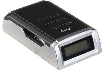 Baterijų įkroviklis i-tec su LCD, 4 vietos Paveikslėlis 1 iš 3 250256600362