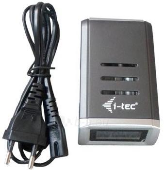 Baterijų įkroviklis i-tec su LCD, 4 vietos Paveikslėlis 2 iš 3 250256600362