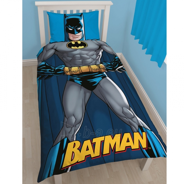 Batman Shadow dvipusės patalynės komplektas Paveikslėlis 1 iš 3 30115700675