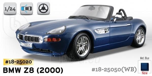 Bburago BMW Z8 (2000) 1:24 Kit Bburago 18-25020 Paveikslėlis 1 iš 1 250710800131