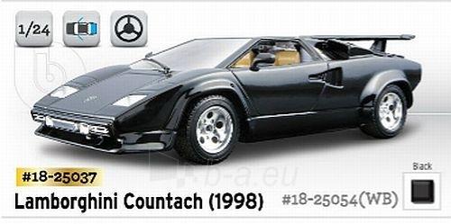 Bburago Lamborghini Countach (1998) 1:24 Kit Bburago 18-25037 Paveikslėlis 1 iš 1 250710800477