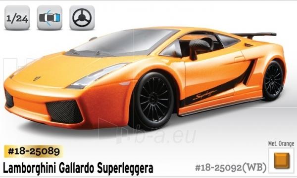 Bburago Lamborghini Gallardo Superleggera (2007) 1:24 Kit Bburago 18-25089 Paveikslėlis 1 iš 1 250710800140