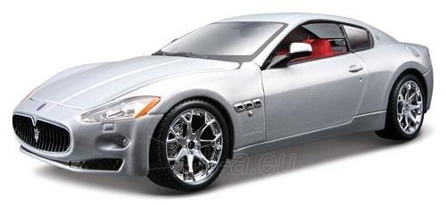 Bburago Maserati Grantourismo (2008) black 1:24 Bburago 18-21036 Paveikslėlis 1 iš 1 250710800142