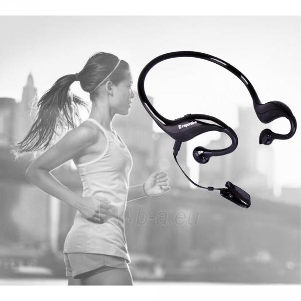 Belaidės ausinės su pulso matuokliu inSPORTline Pulsate Paveikslėlis 3 iš 3 310820013187