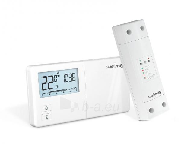 Belaidis programuojamas termoreguliatorius Wellmo WTH25.16RF Paveikslėlis 1 iš 2 310820039244