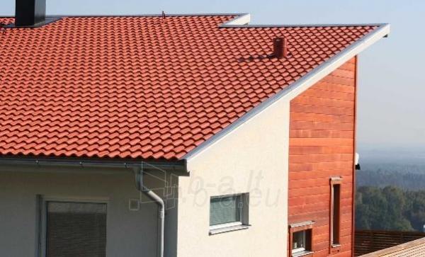 Benders Palema betoninė čerpė, molio raudonumo Paveikslėlis 3 iš 3 237170100062