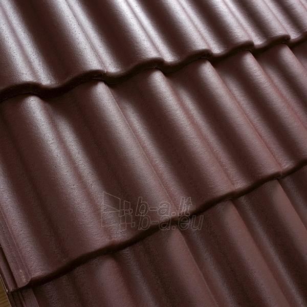 Benders Palema Concrete Roof Tile Burgundy Paveikslėlis 1 Iš 2 237170100065