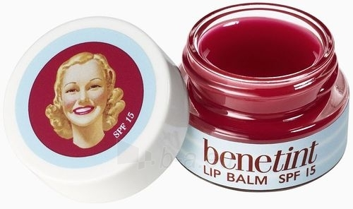 Benefit Benetint Lip Balm SPF15 Cosmetic 6,5g Paveikslėlis 1 iš 1 2508721000025