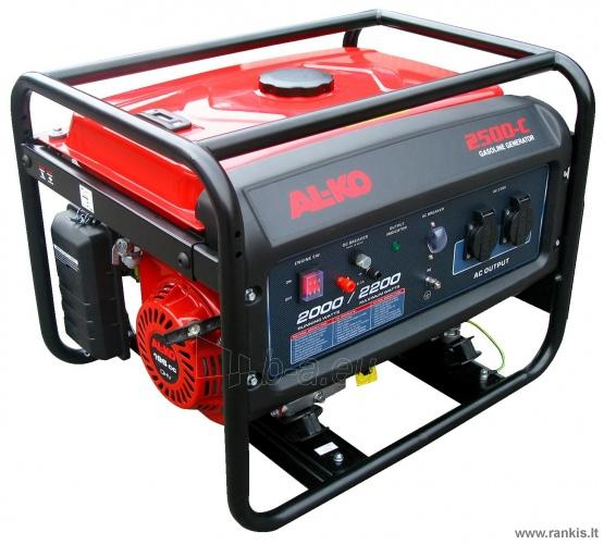 Benzininis elektros generatorius AL-KO 2500-C Paveikslėlis 1 iš 1 310820049881