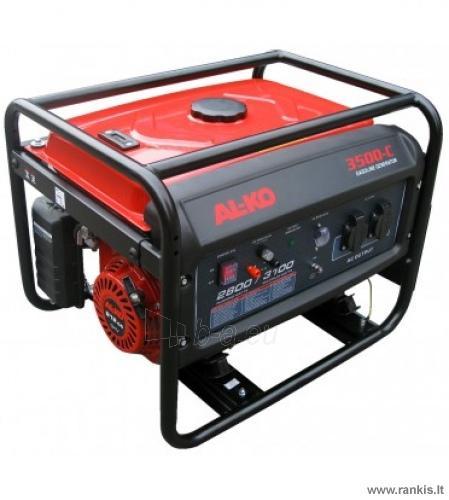 Benzininis elektros generatorius AL-KO 3500-C Paveikslėlis 1 iš 1 310820049882