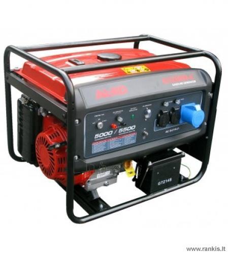 Benzininis elektros generatorius AL-KO 6500 D-C Paveikslėlis 1 iš 1 310820049883