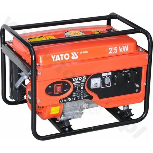 Benzininis elektros generatorius Generatorius benzininis 2,5kW (YT-85432) Paveikslėlis 1 iš 1 225282000152