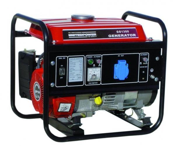Benzininis elektros generatorius HECHT GG1300 Paveikslėlis 1 iš 1 225282000116