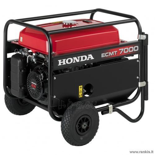 Benzininis generatorius Honda ECMT 7000 Paveikslėlis 1 iš 1 310820017626