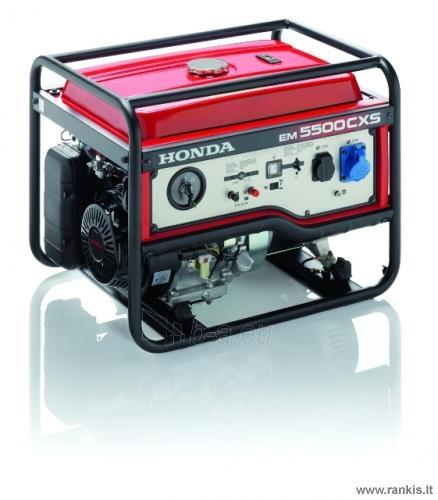Benzininis generatorius Honda EM 5500 CXS Paveikslėlis 1 iš 1 310820017628