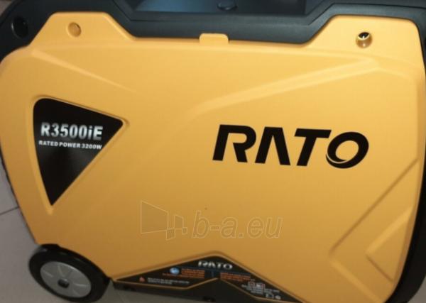 Benzininis generatorius RATO R3500IE Paveikslėlis 2 iš 2 310820242617