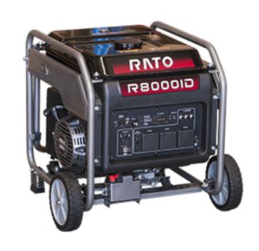 Benzininis generatorius RATO R8000ID, 7.0kW, 230V, Paveikslėlis 1 iš 1 310820242618