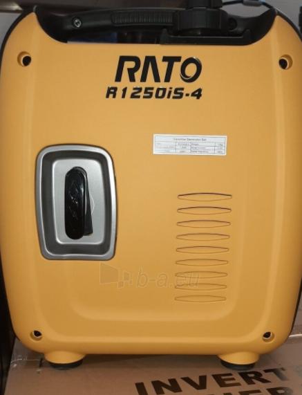 Benzinins generatorius RATO R1250iS-4 Paveikslėlis 2 iš 2 310820242612