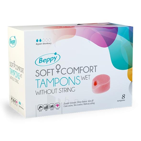 Tamponai Beppy - Wet Tampons 8 pcs Paveikslėlis 1 iš 1 2514126000024