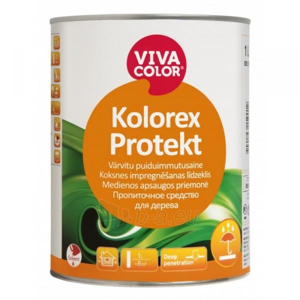 Bespalvis impregnantas VIVACOLOR Kolorex Protect 1l Paveikslėlis 1 iš 1 310820037173
