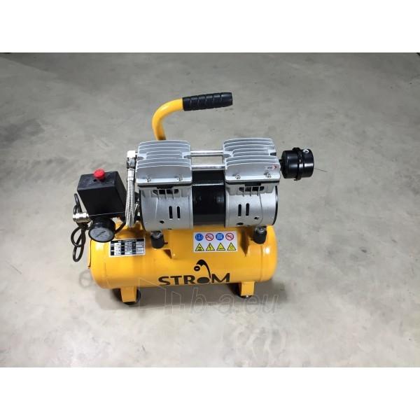 Betepalinis oro kompresorius 9L, 220V STROM (JN550) Paveikslėlis 1 iš 2 225291000179