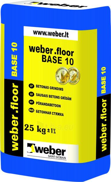 Floor concrete weber.floor BASE 10 (10-80mm ) 25 kg Paveikslėlis 1 iš 1 236750000048