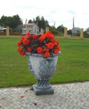 Concrete elementas Flowerpot , H-74 cm Paveikslėlis 1 iš 1 310820015132