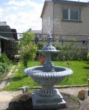 Betoninis fontanas H-155 cm Paveikslėlis 1 iš 1 310820016243
