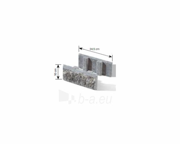 Betoninis tvoros pamūros elementas Matas J (pilkas) Paveikslėlis 11 iš 13 239320300007