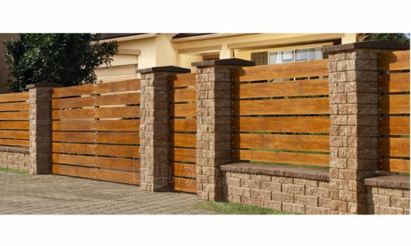 Betoninis tvoros pamūros blokelis F2 (galimybė rinktis spalvą) Paveikslėlis 8 iš 9 310820022775
