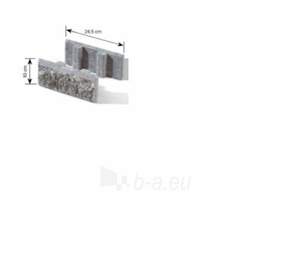 Betoninis tvoros pamūros elementas Matas J (pilkas) Paveikslėlis 12 iš 13 239320300007