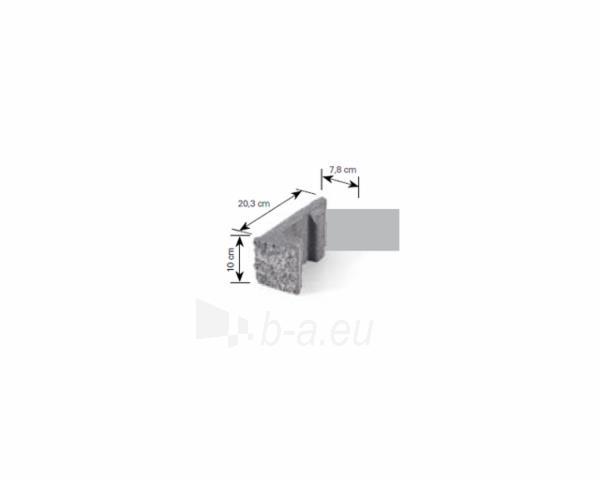 Betoninis tvoros stulpo elementas Matas L (pilkai-smėlinis) Paveikslėlis 5 iš 8 239320100022