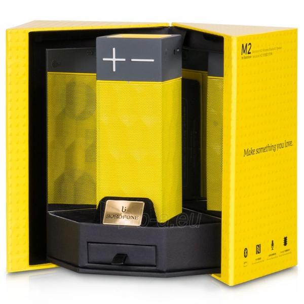 Bevielė kolonėlė HOCO Borofone Bluetooth Speaker M2 HOCO dzeltens - yellow Paveikslėlis 1 iš 1 310820012392