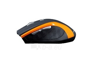 Bevielė pelė MODECOM Optinė MC-WM5 juodai oranžinė Paveikslėlis 1 iš 1 250212002148