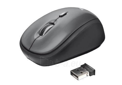 Bevielė pelė Trust Yvi Mini 2,4 GHz Paveikslėlis 1 iš 4 250255030994